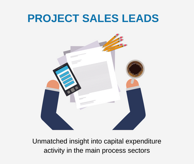Project leads | Pharma leads | Food & Drink leads for suppliers